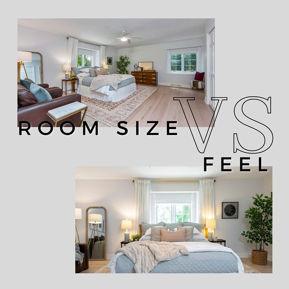 Room size vs Feel