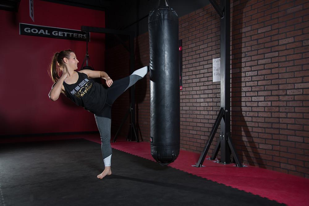 Kickboxing, High Kick, Workout, Fitness, Personal Branding