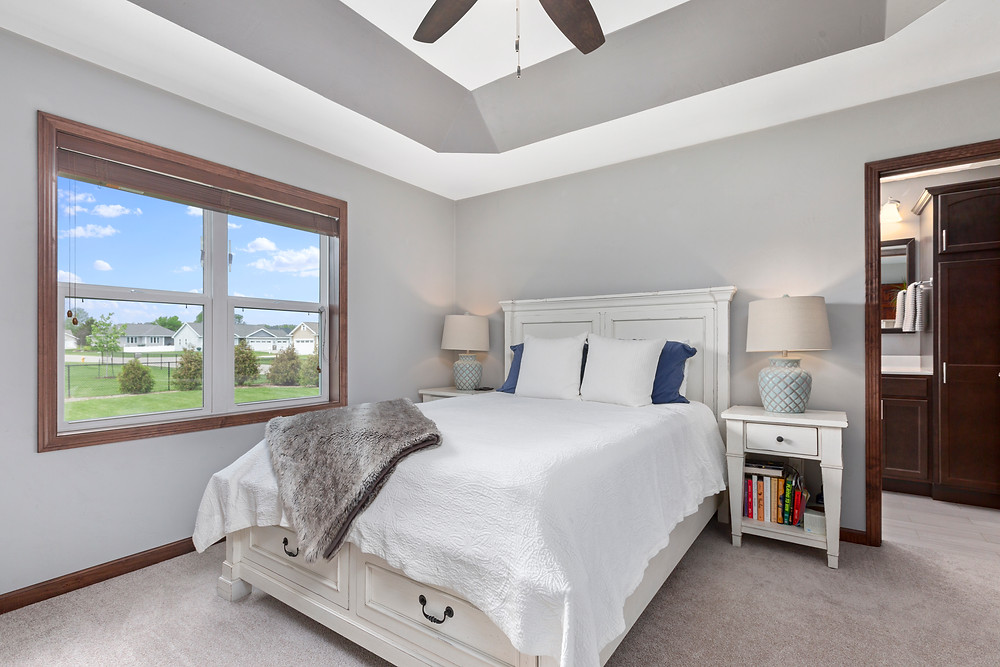 Master Bedroom, Window Pull, Close Up Shot