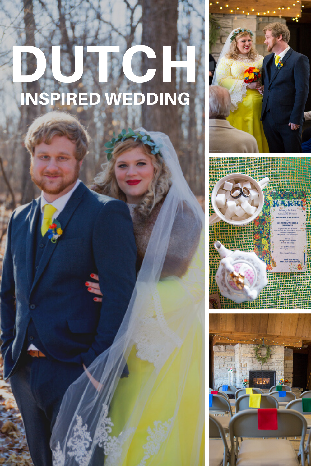 Dutch inspired wedding, Wedding inspiration