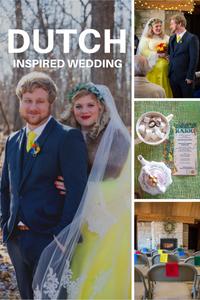 Dutch inspired wedding, Wedding inspiration