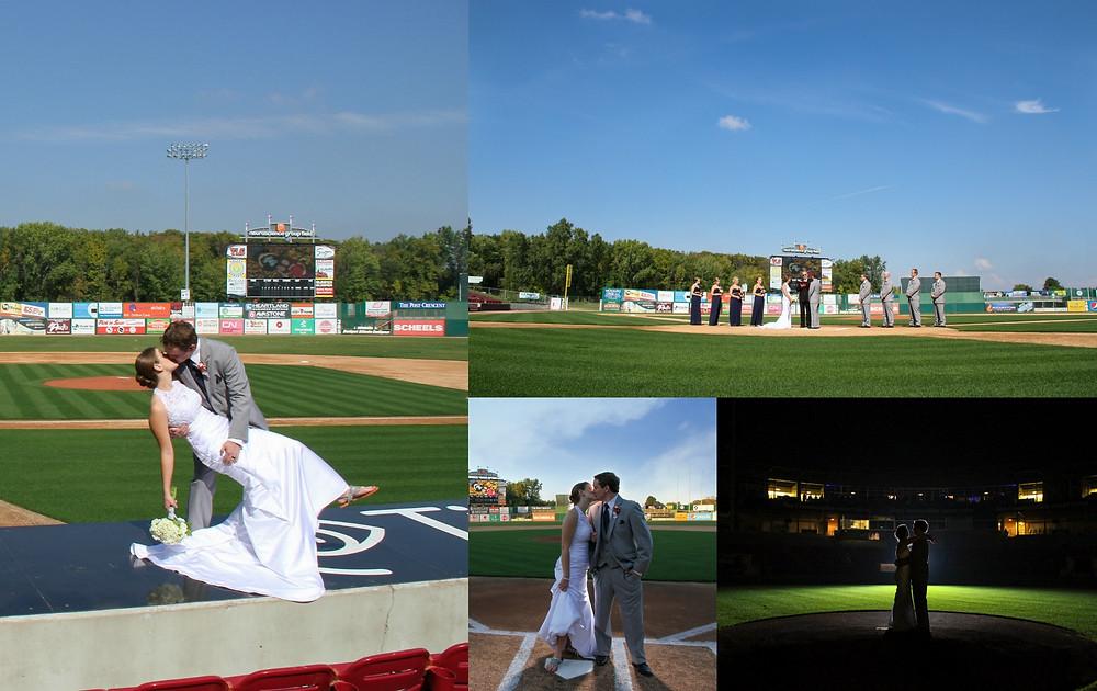 Fox Cities Stadium, Timber Rattlers Wedding, Baseball Wedding, Appleton Wedding