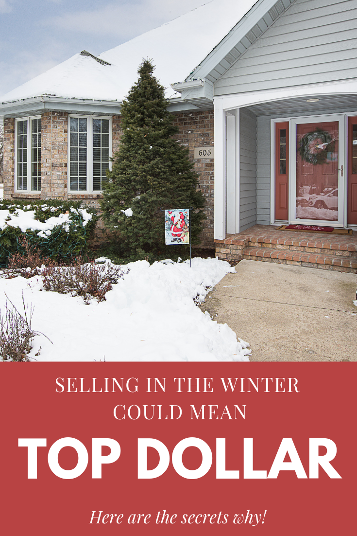 Selling in the winter, Appleton Real Estate, Home Selling Tips