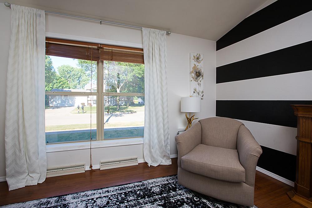 Accent Wall, Home Update, Vandy Real Estate, Elegant Exposure