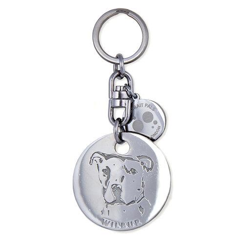 The Pet Passport Keychain