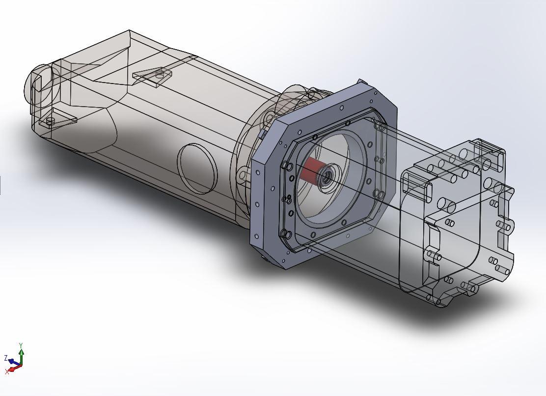Couplage moteur électrique - boite