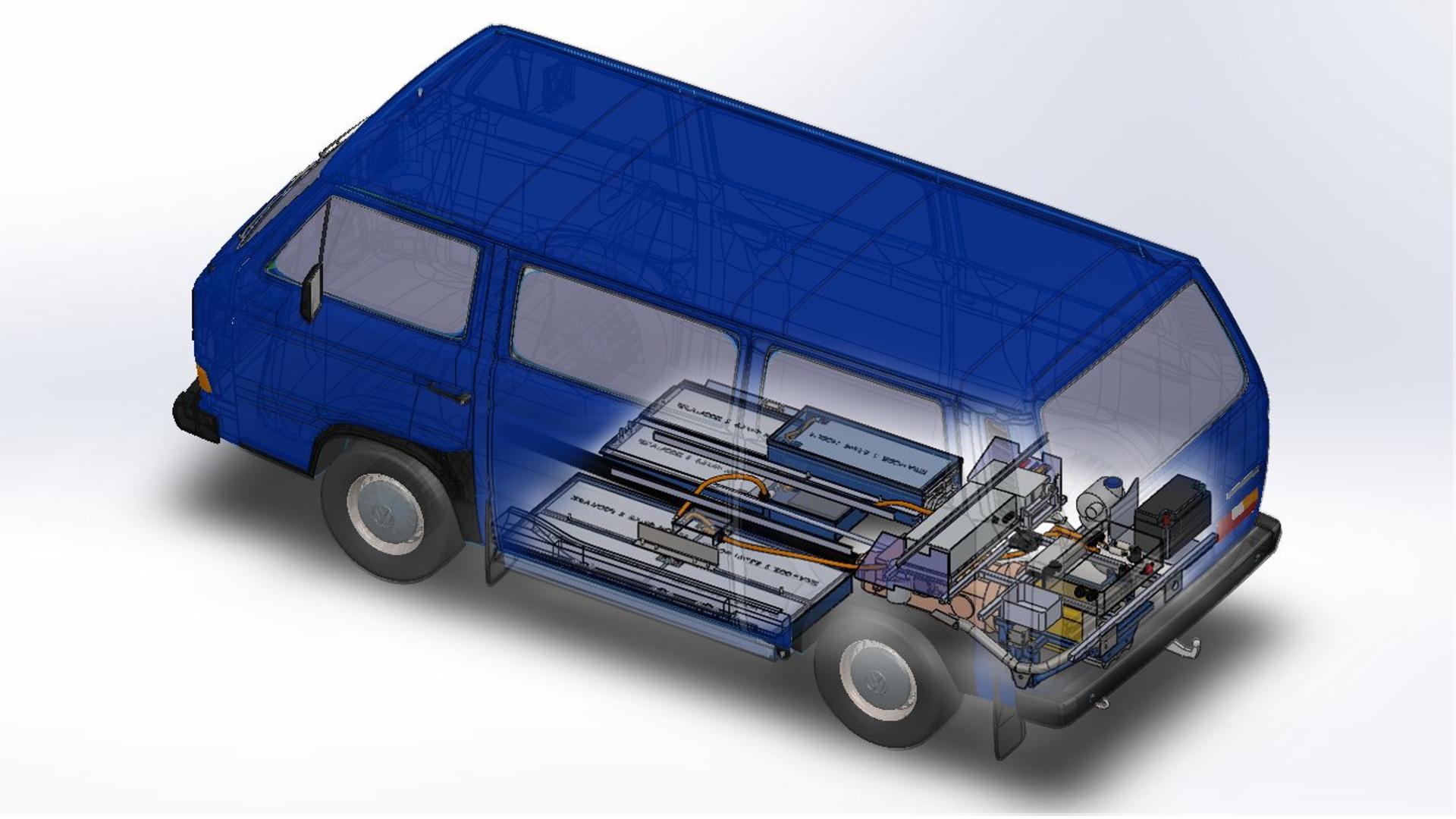 NANO le van électrique converti