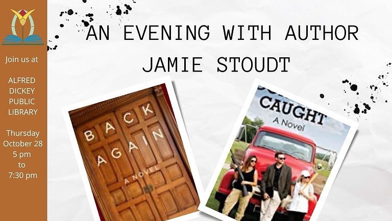 An Evening With Author Jamie Stoudt
