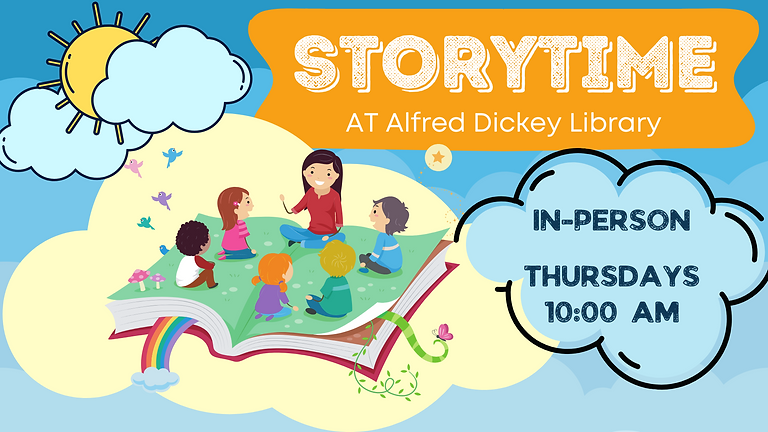 Storytime (in-person) at Alfred Dickey Library