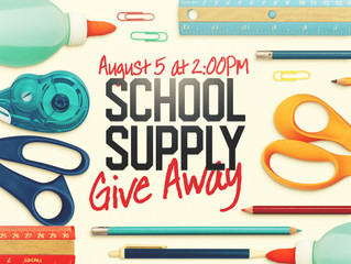 School Supply Give Away