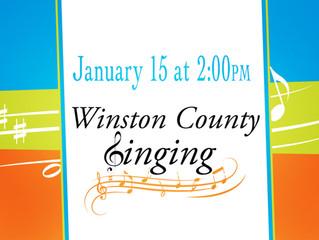Winston County Singing