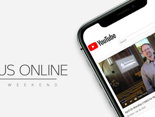 Join Us Online for Worship