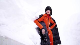 Harper's BAZAAR China digutal magazine 'minibazaar' Jan2020 Issue fashion film GO SKIING
