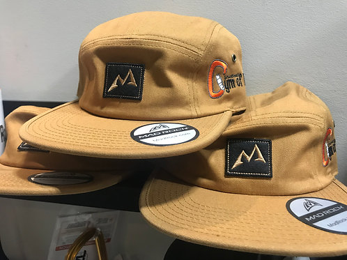 5 Panel Mad Rock Hat with Gym of Rock Logo