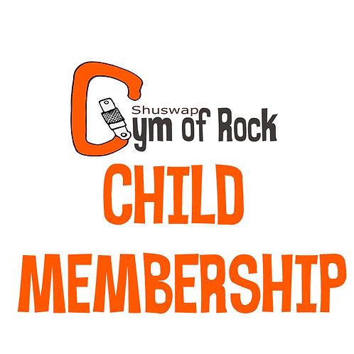 Child Annual Membership (5-10 YO)