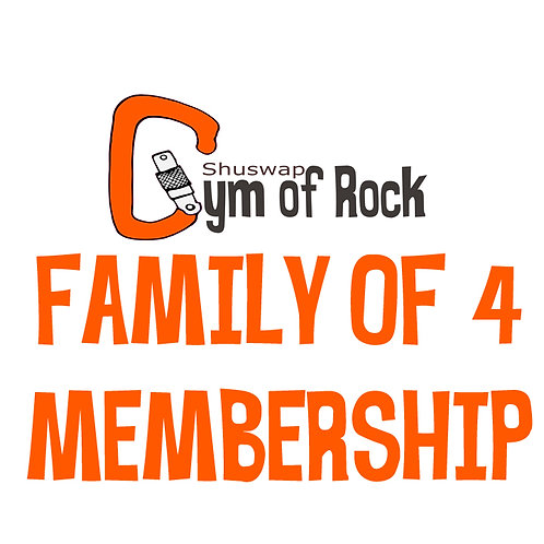 Family of 4 Annual Membership