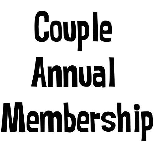 Couple Annual Membership