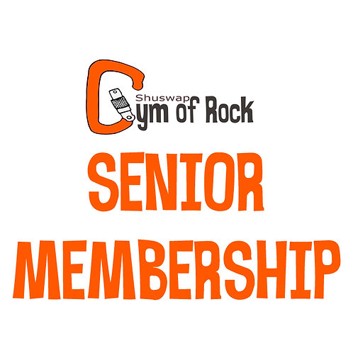 Senior Annual Membership (55+)