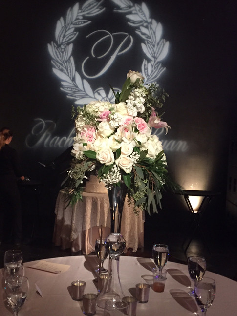 Reception flowers by Joan Greene Studio