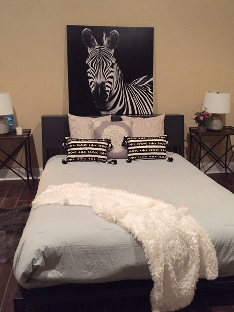 Guest Bedroom Staged by Joan Greene Studio