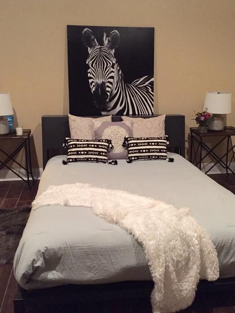 Guest Bedroom Staged by Joan Greene Studio