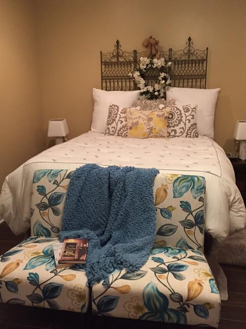 East Nashville Staged Bedroom by Joan Greene Design