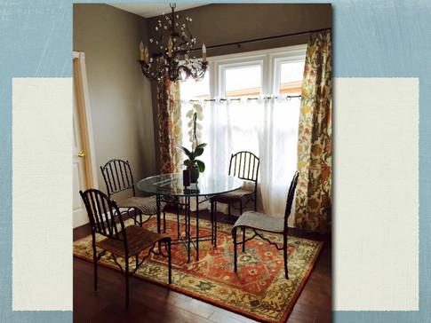 Interior Design Traditional Nashville Home Breakfast Area by Joan Greene