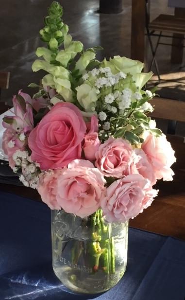 Southern Reception Flowers by Joan Greene