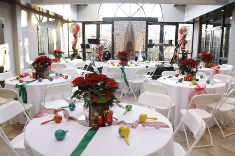 CMA, Country Music Assoc. Christmas Party decorations by Joan Greene Studio