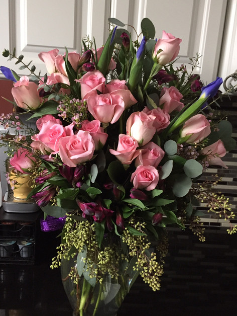 Events and special occasion flowers Nashville, TN, by Joan Greene Studio