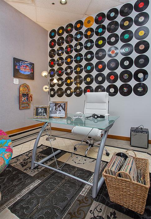 Nashville Music Row Property Staged by Joan Greene Studio