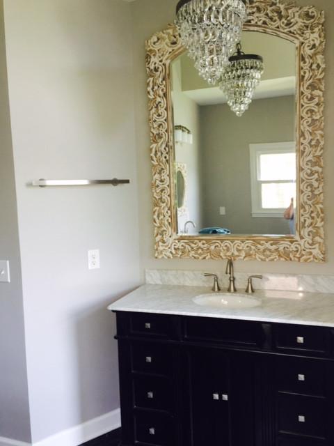 Bathroom interior design by Joan Greene Studio