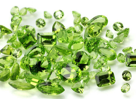 August The Birthstone: Peridot