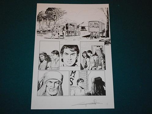 Giuseppe CANDITA Original Comic Art - Tavola originale pag.8 Zagor Le Origini #3