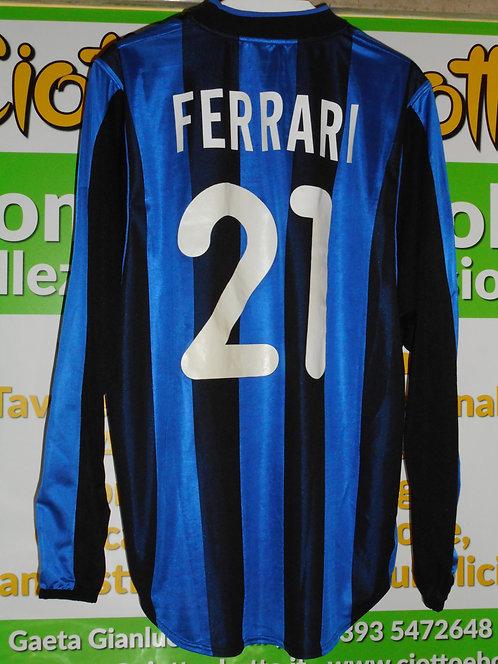 Maglie INTER match worn 2000/2001 # 21 FERRARI # 8 JUGOVIC # 32 VIERI