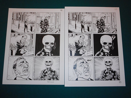 Bruno BRINDISI Tavola originale Original Comic Art # 79 Dylan Dog # 338 Bonelli