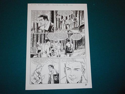 Luca RAIMONDO - tavola originale # 25 Brad Barron # 5 Bonelli Original Comic art