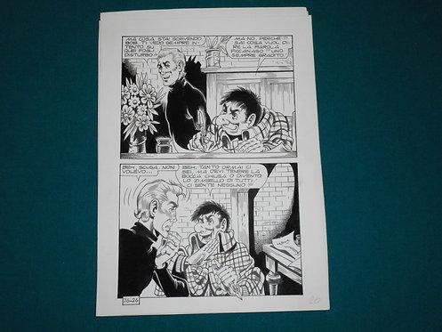 Paolo Piffarerio Luigi Corteggi Original Comic Art - Tavola # 26 Alan Ford # 76