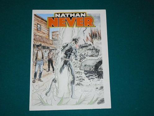 Roberto De Angelis Original Comic Art - prova colore NATHAN NEVER # 116 del 2001