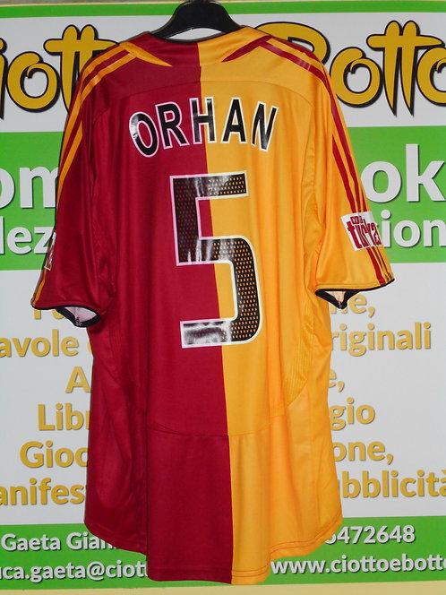 Maglia # 5 ORHAN AK Super Lig 2006/2007 match worn shirt ADIDAS AVEA COLA TURKA