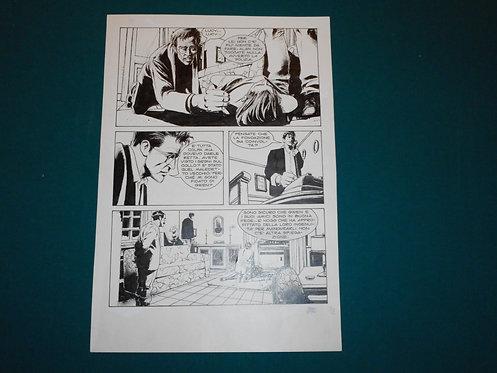 Corrado Roi Original Comic Art - Tavola originale pag.# 78 Dylan Dog Gigante # 6