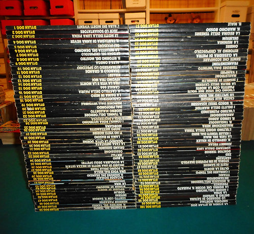 DYLAN DOG sequenza completa # 1/100 1a ediz. originale Bonelli 1986/1995 SCLAVI