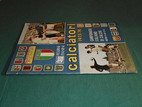 ALBUM FIGURINE CALCIATORI PANINI 1973-74 1973 1974 non completo con cedola