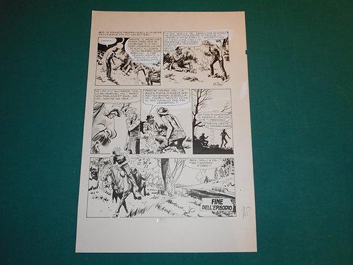VLADIMIRO (MIRO) MISSAGLIA Tavola originale # 96 pubblicata su GIL # 1 06/1982