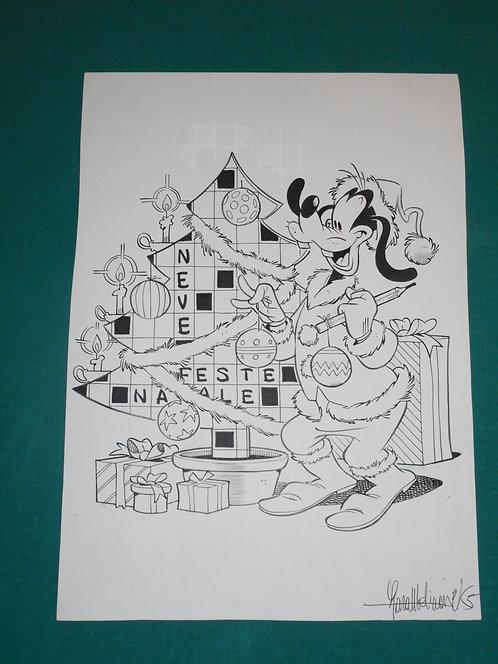 LARA MOLINARI Cover COPERTINA originale Speciale Disney Enigmistica del 1999