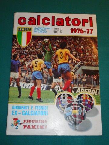 Figurine PANINI ALBUM CALCIATORI 1976-77 - completo