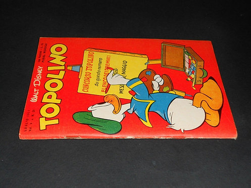 TOPOLINO LIBRETTO N. 29 originale Walt Disney Mondadori LUGLIO 1951 busta LAMPO
