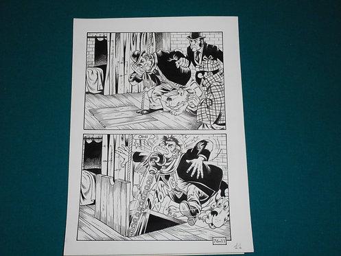 Paolo Piffarerio Luigi Corteggi Original Comic Art - Tavola # 11 Alan Ford # 76