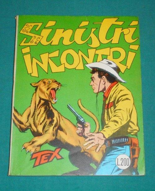 TEX GIGANTE II SERIE # 34 Araldo Aut.2926 originale 1a edizione spillato 08/1963