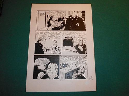 FABIO CIVITELLI Tavola originale MISSIONE A BOSTON pubblicata su TEX 414-415-416